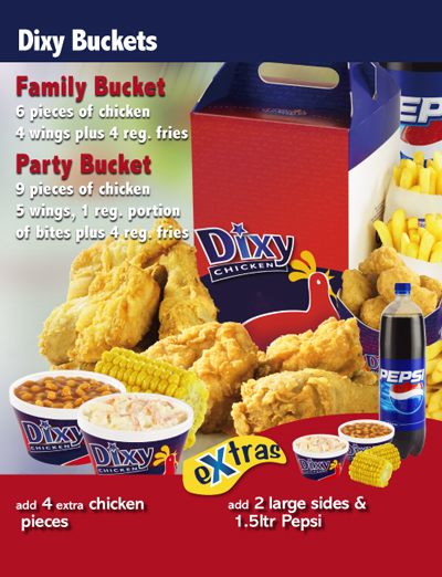 Dixy Chicken About Dixy